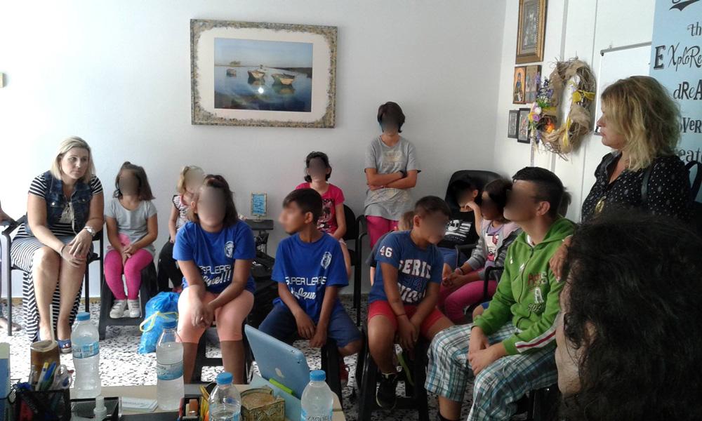 Επίσκεψη στο Σωματείο Κινητικά Αναπήρων Μαγνησίας «ΙΠΠΟΚΑΜΠΟΣ».